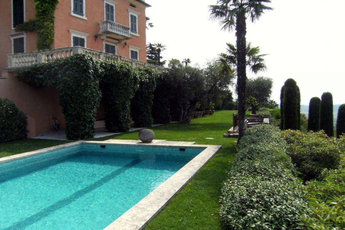 Historische Villa Gardasee Verkauf 12
