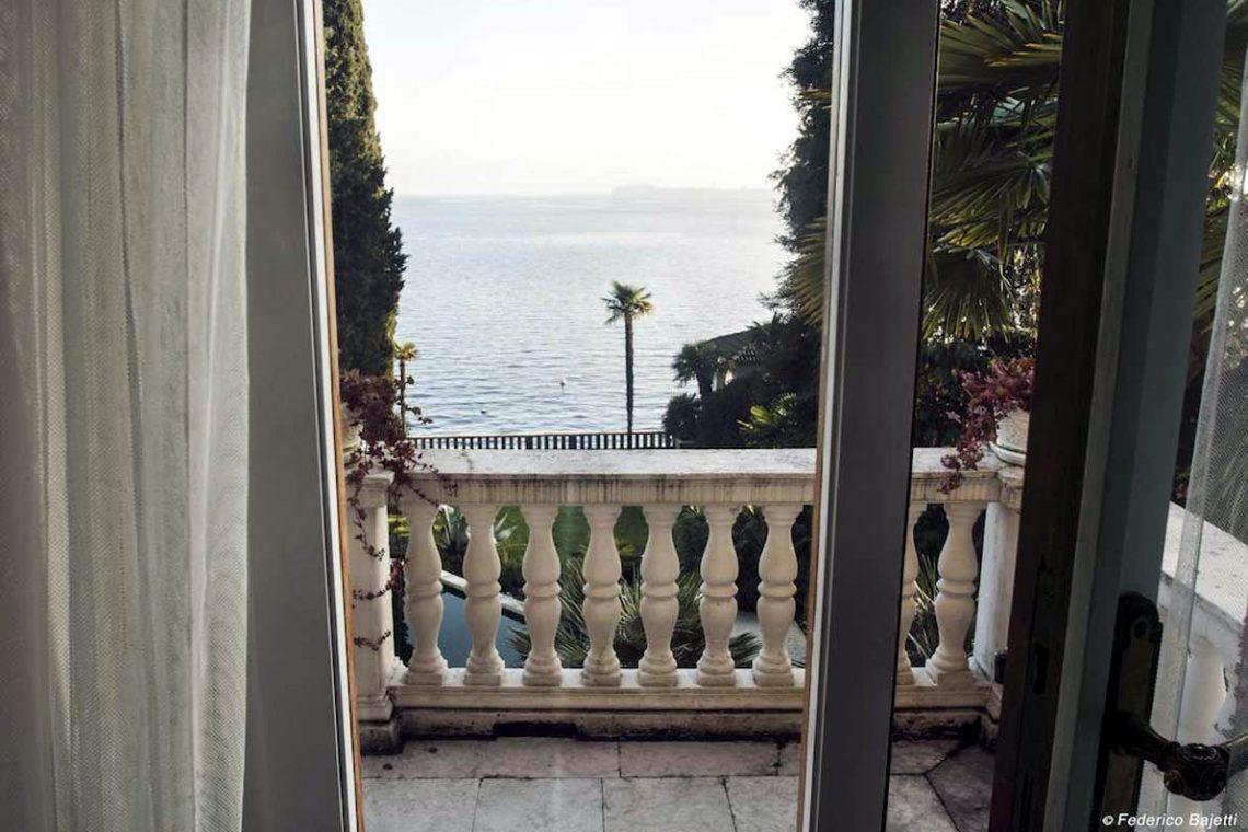 Historische Villa Gardasee zur Miete am See 07