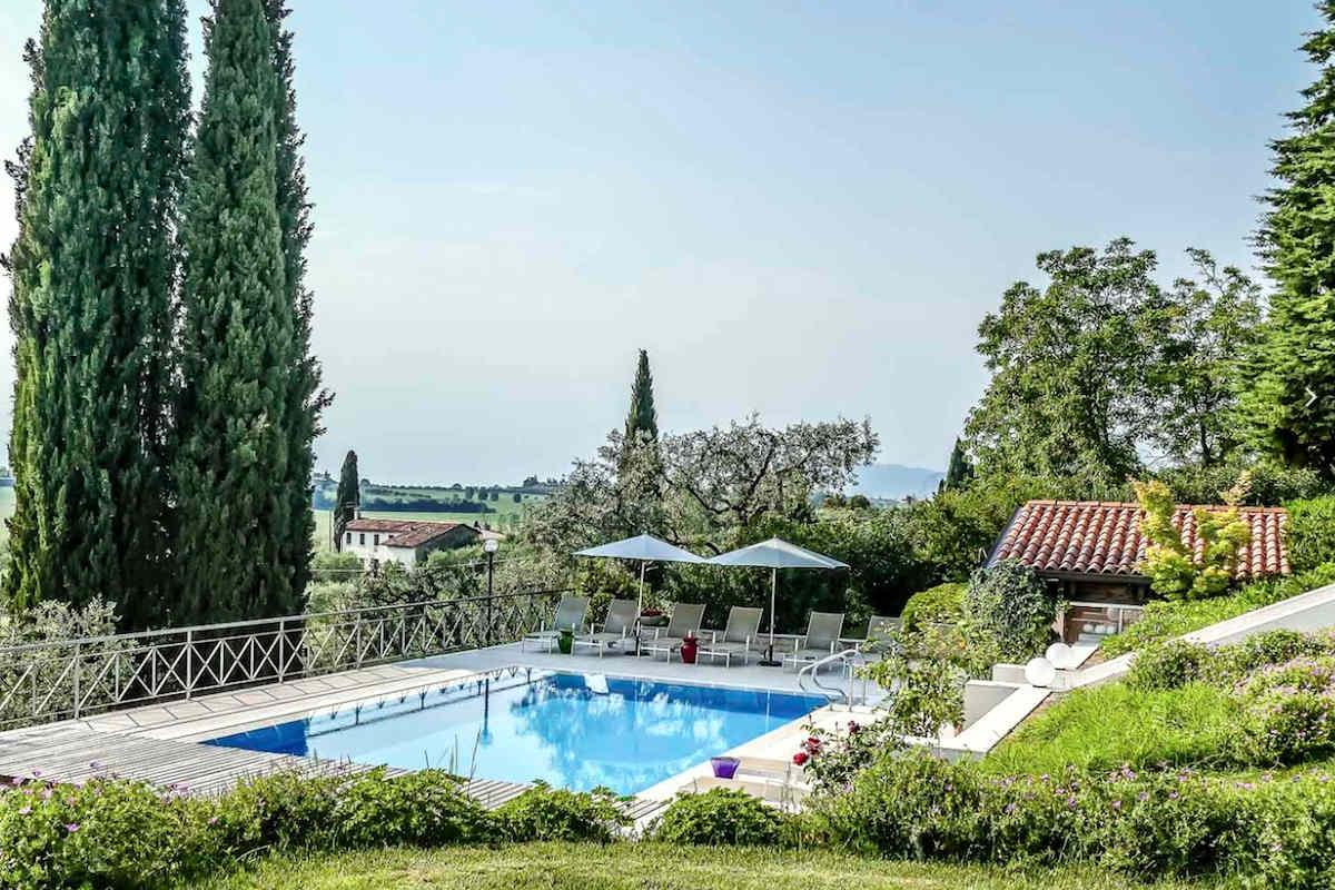 Villa Lazise zur Miete mit Panorama-Swimmingpool