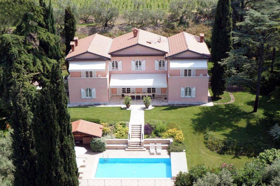 Villa Lazise zur Miete mit Panorama-Swimmingpool 07