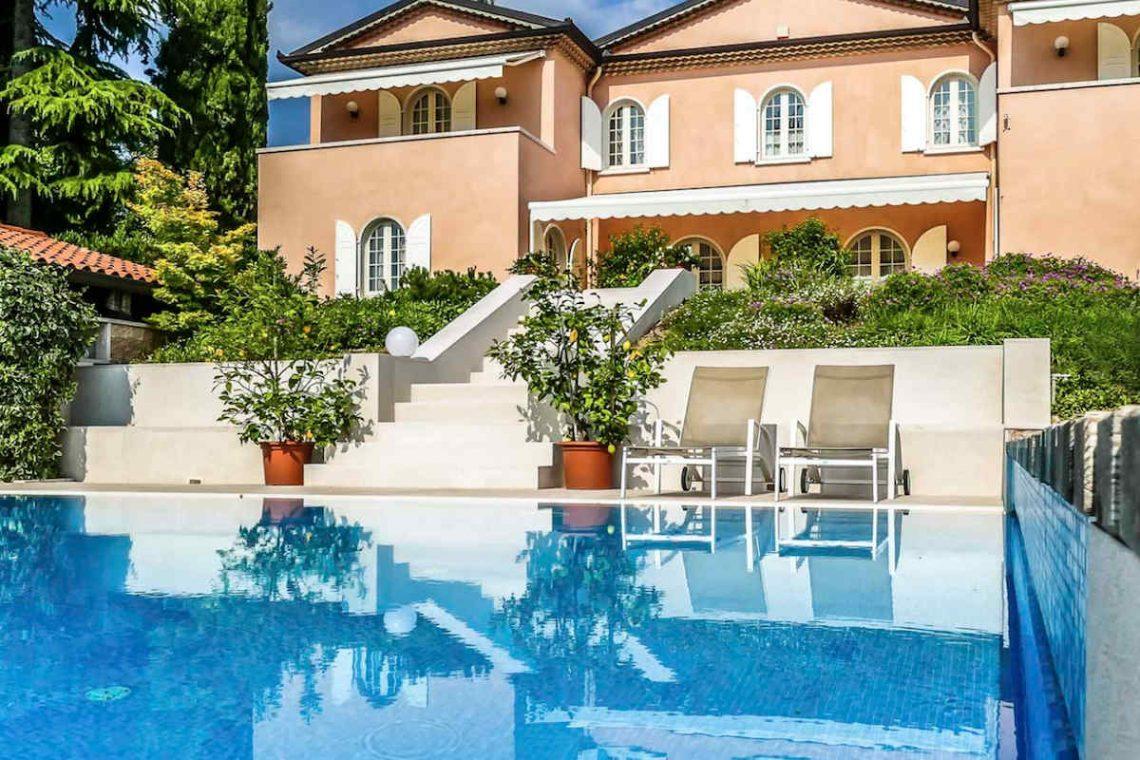 Villa Lazise zur Miete mit Panorama-Swimmingpool 09