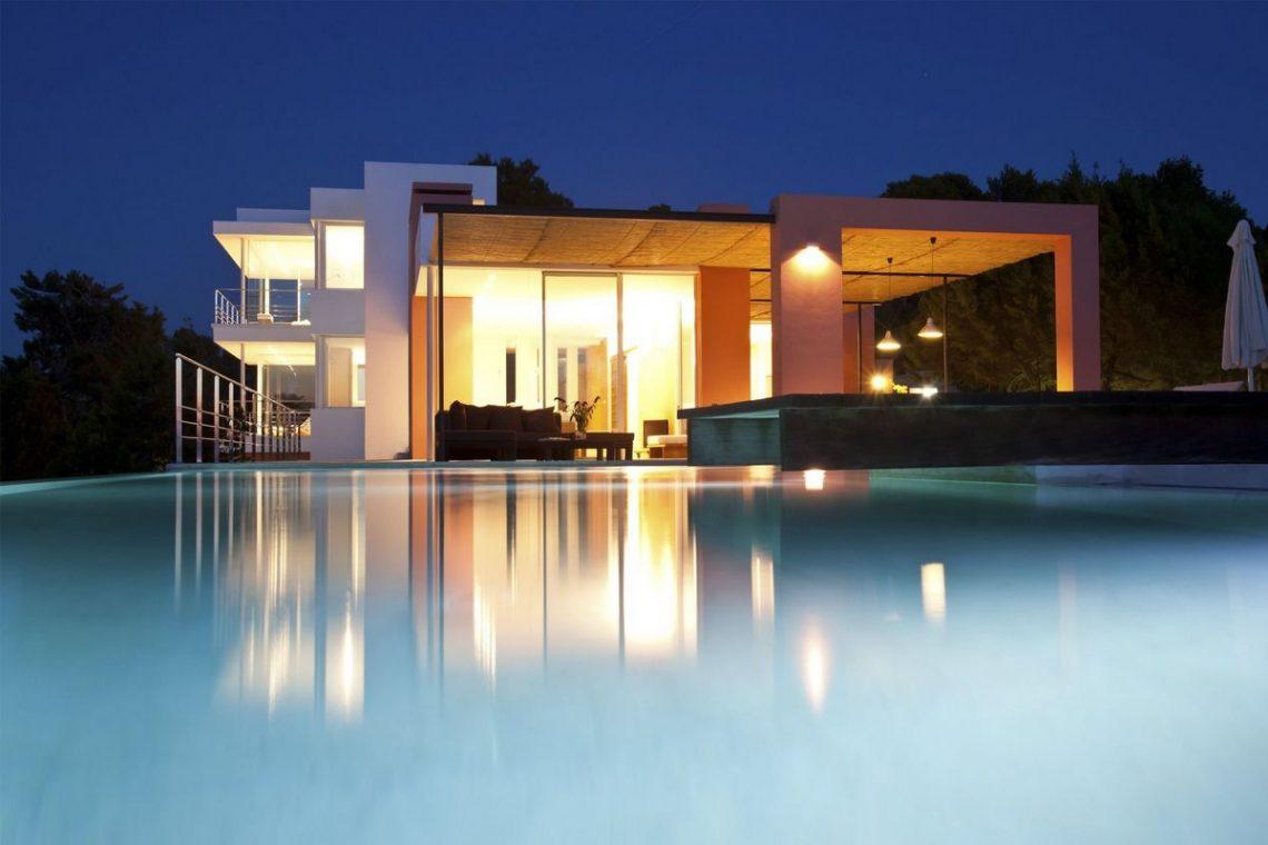 ibiza villa rent minimalist design 11