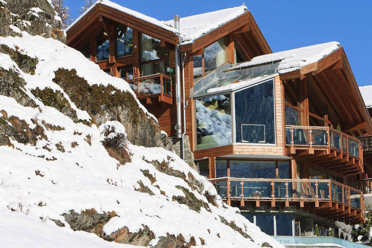 Luxus Chalet Zermatt zur Miete mit 5 Sterne Service