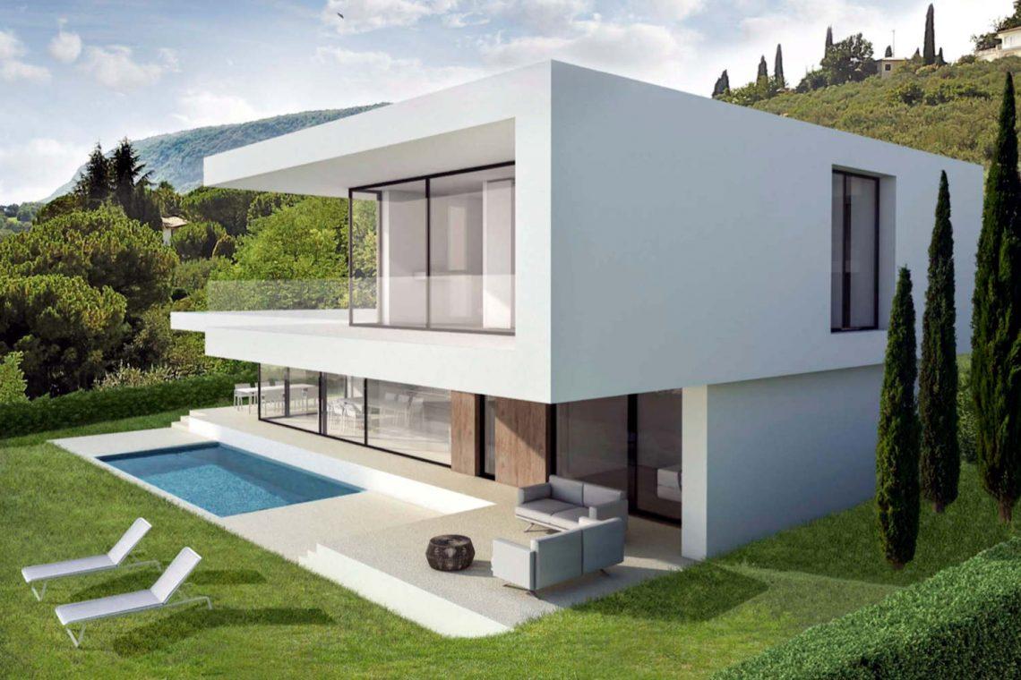 Villa Garda Seeblick in Panoramalage und Pool 03
