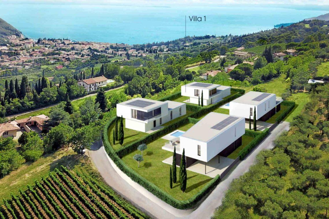 Villa Garda Seeblick in Panoramalage und Pool 04