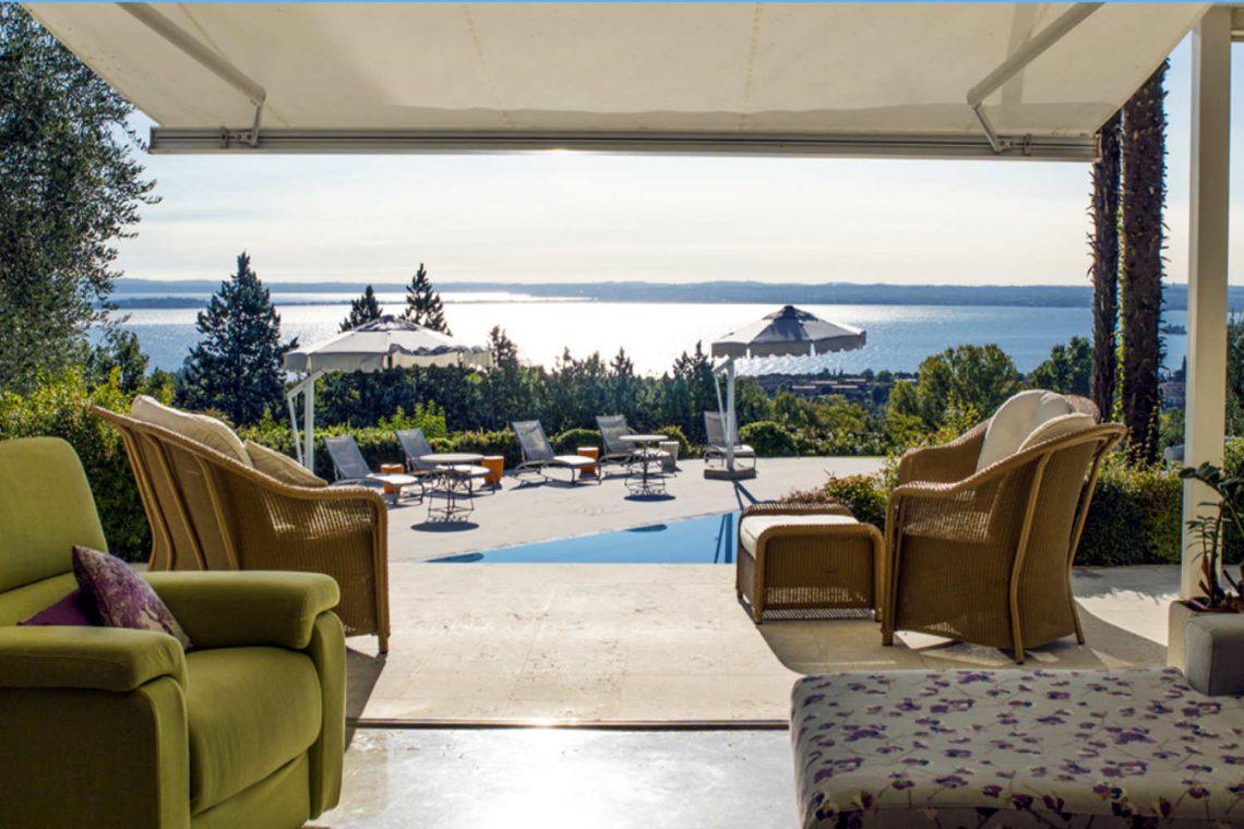 Villa Padenghe Verkauf mit Seeblick und Panoramapool 06