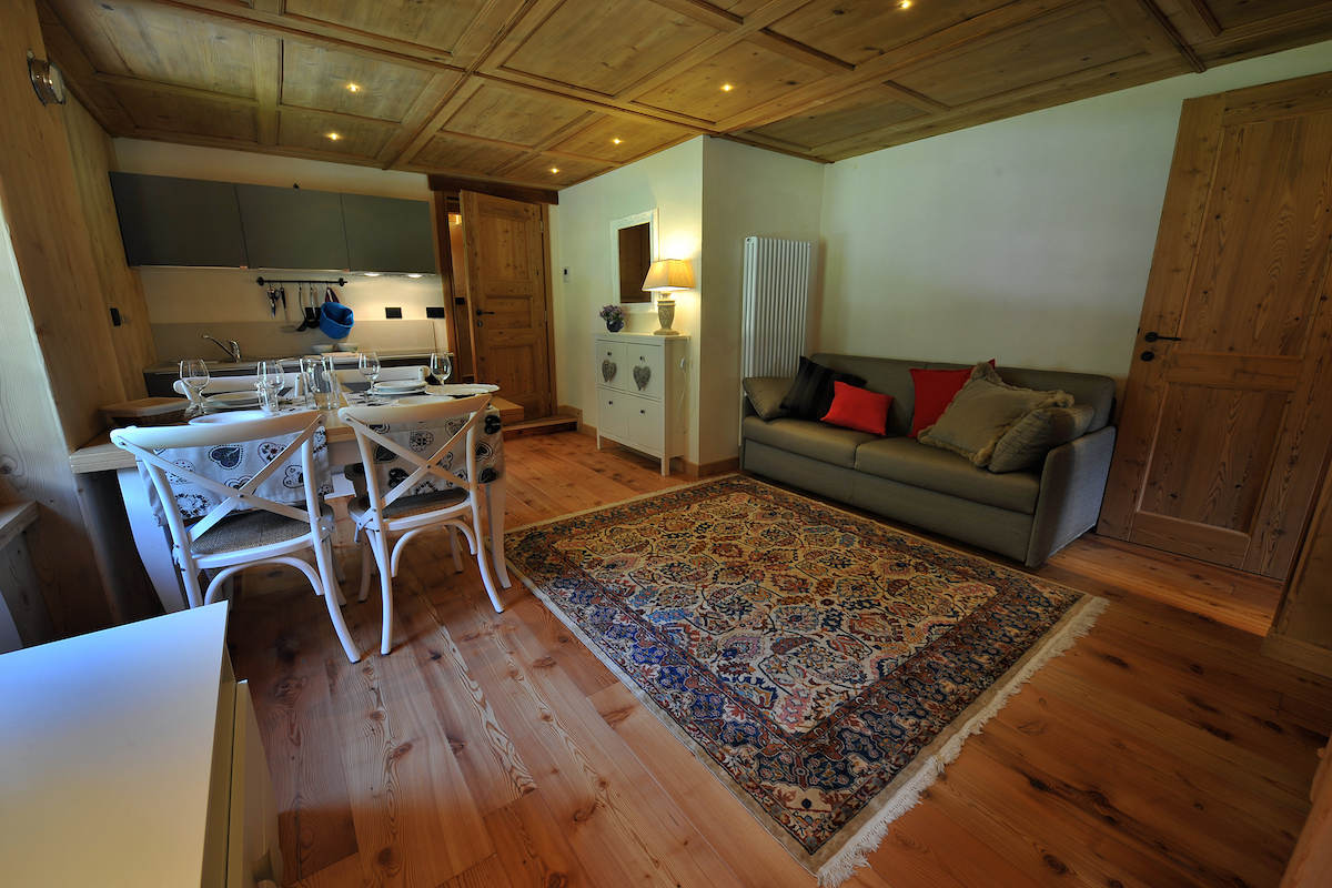 Wohnungen in Gressoney im Walserhaus fein restauriert