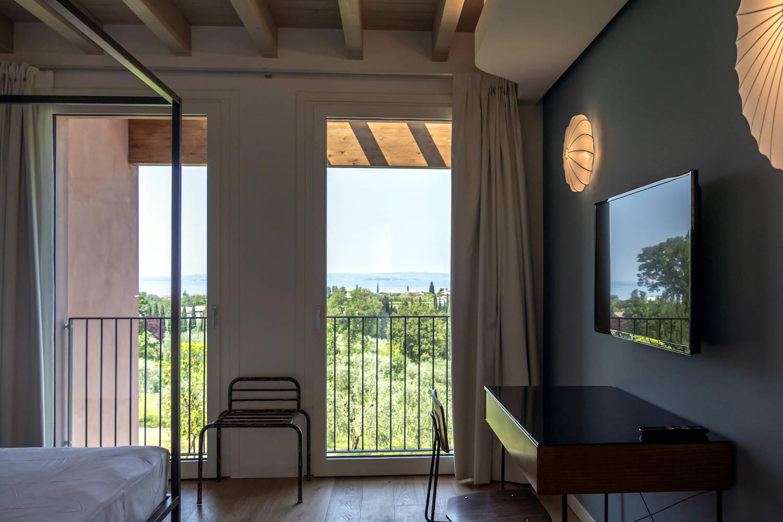 Villa Gardasee zur Miete in Lazise mit Seeblick
