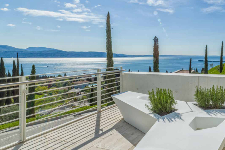 Villa Gardasee zur Miete in einem 5-Sterne-Luxusresort
