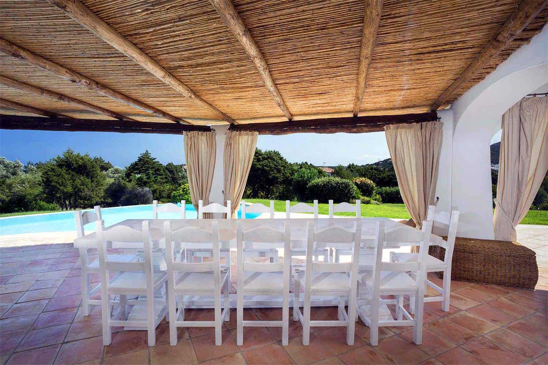 Villa in Porto Cervo zum Verkauf mit pool