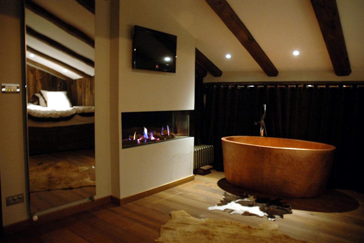 Luxus Chalet Sestriere mit spektakulärer bergblick