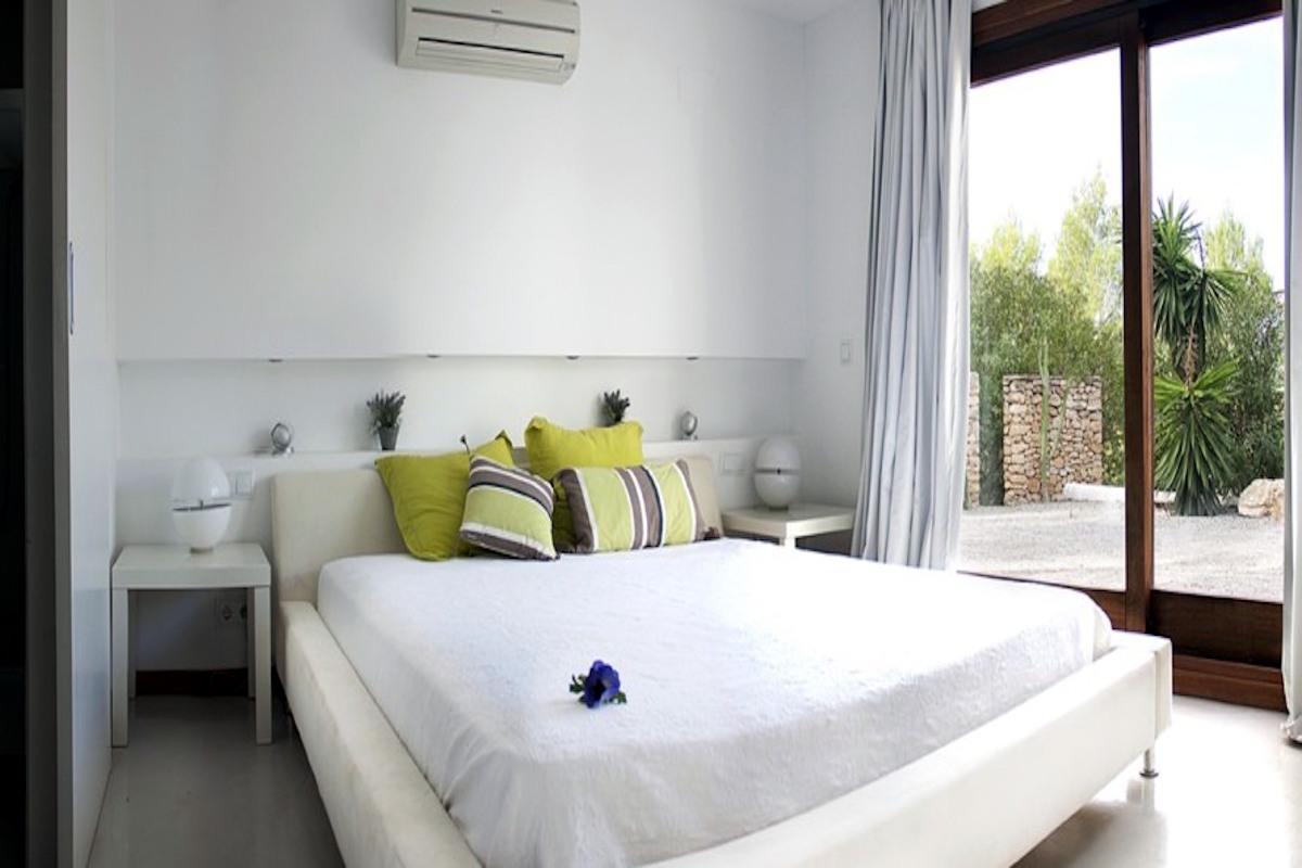 Meerblick Villa Ibiza zu vermieten mit pool