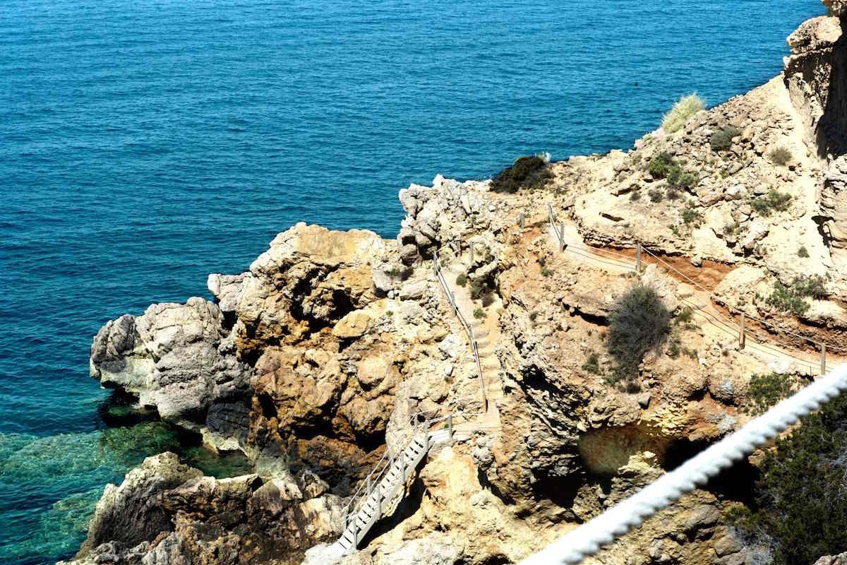 Villa Ibiza Vermietung direkt am Meer