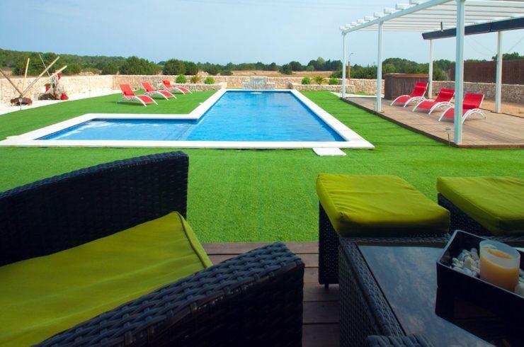 Luxusvilla Formentera mieten mit Meerblick