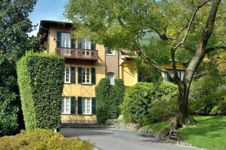 Historische Villa Comer See mieten mit seeblick