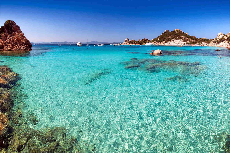 Haus Sardinien direkt am Meer auf der Insel La Maddalena