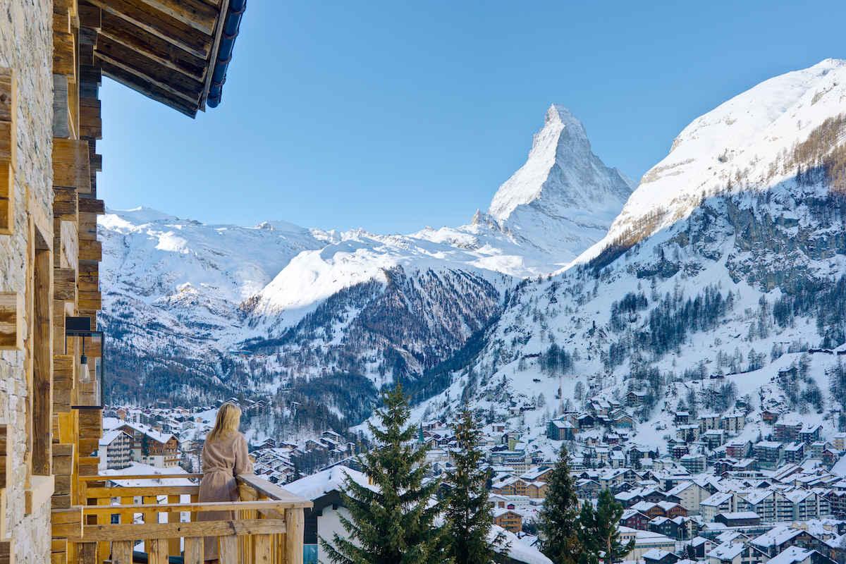 Chalet Zermatt zu vermieten mit 5 Sterne Service