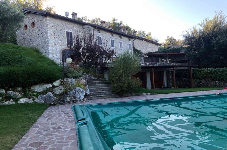 Landhaus Seeblick auf den Hügeln von Bardolino