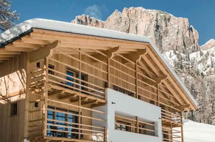 Luxus-Chalet Dolomiten zur Miete mit SPA & Wellness